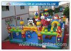 Popular Inflatable Theme Park Kids Bouncy Castle Carnival Games For Jumping