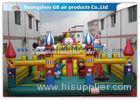 Garden Backyard Kids Inflatable Amusement Park Playland For Outdoor Sports