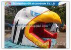 Customized Inflatable Air Tent Lively Eagle Head Shape Tunnel With Blower
