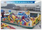 Safety Octopus Party Style Inflatable Amusement Park With Slide For Fun Games