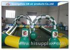 Sport Games Inflatable Go Kart Track / Horse Track Inflatable Racing Track