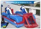 12m Inflatable Sports Games Inflatable Football Pitch Soccer Field With Air Mat