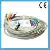 Patient monitor Burdick(Quinton) 10 lead ekg cable with learwires Banana 4.0 plug IEC. U245-11BI