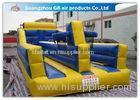 Exciting Child Bungee Run Inflatable Sports Games With Basketball Hoop