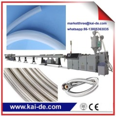 Stainless steel wire braided plumbing hose production machinery/shower hoser making machinery