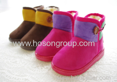 Causal Flat Kid Boots