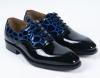 New Fashion PU Patent Leather men shoes