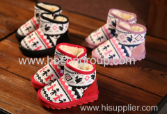 Children Boots With Zipper