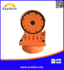 dual axis worm drive for solar power and solar tracking system