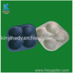 Sustainable bagasse pulp Apple packaging trays