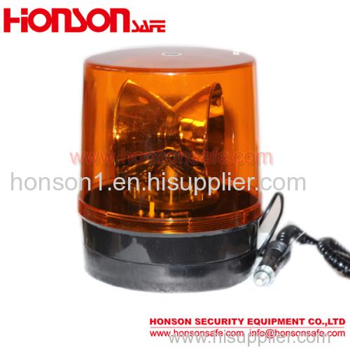 24 Volt Big Rotator warning Beacon single flashing