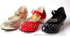 New Design Diamonds Upper Children Shoes