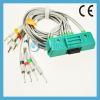 Nihon Kohden ECG-9320 EKG cable 10 leadwires U205-13DI