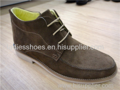 New Style Fashion flat PU suede men boot