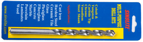 Multi-purpose drill bits for unverisal cutting on casted iron harden metal glass ceramic tile marble granite