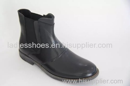 New Fashion Pull on Comfortable Flat Men Boots