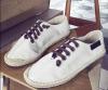 New Fashion Canvas men shoes/ line-soled canvas shoes