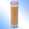 Resin water filter cartridge