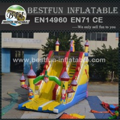 China Cartoon inflatable slide for manufacturer