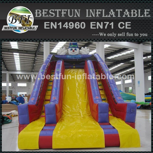 Clown Inflatable Slide For Kids
