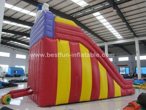 Classic Clown Inflatable Slide