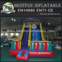 China panda bear inflatable slide