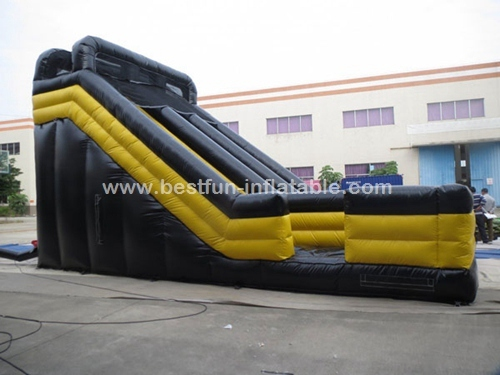 Inflatable dry slides for rent