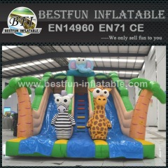 Jungle Mania inflatable slide