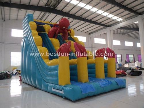 Kidwise Commercial Ocean Dry Inflatable Slide