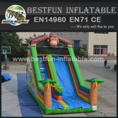 Monkey Business Inflatables Slides