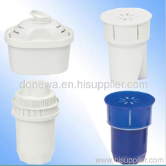 Water pitcher filter cartridge