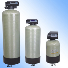 residential water filtration softener