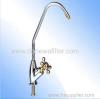 Tri gold long neck faucet