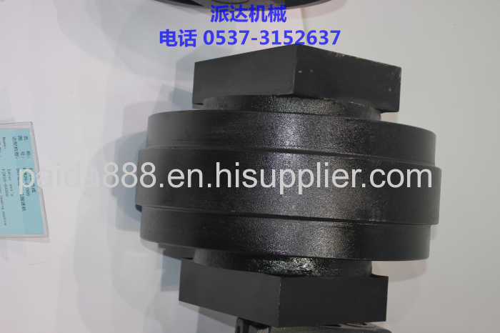 High quality excavator front pc200 idler roller for
