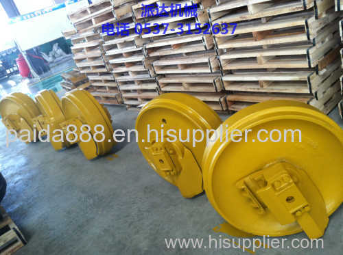 China suppliers undercarriage parts excavator track idler on sale