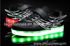 OEM customize men luminous led lightshoes flashing radiance adult led light up shoe