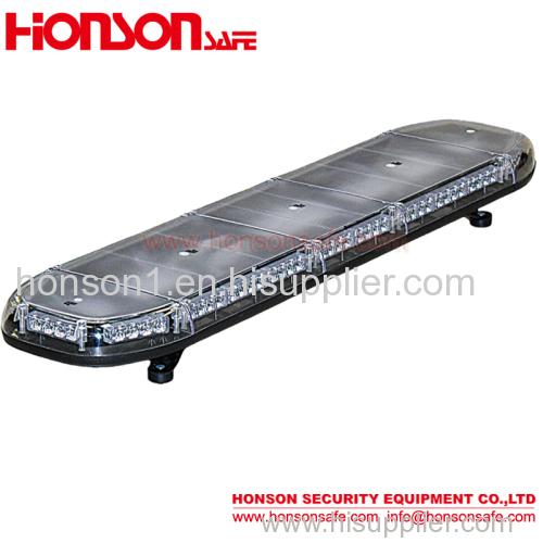 E-mark lightbar with high power leds and roof mounting flashing light bar