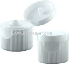 plastic bottle screw flip top cap