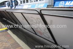 1.1X2.0M Economy Bars Pedestrian control Barrier advertisement barrier