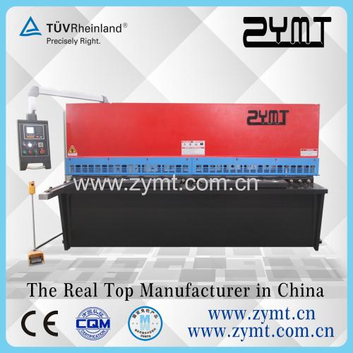 QC12K CNC Contrller swing beam shear machine