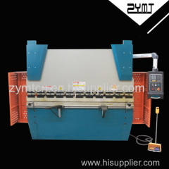ZYMT brand 100ton 2500 length iron bender automatic sheet metal press brake stainless steel metal sheet bending machine