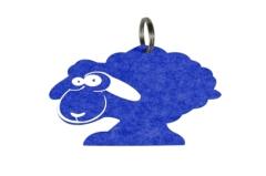 Custom Logo Polyester Felt Keychain