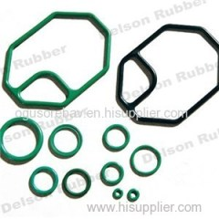 HNBR Rubber Parts Customized Black Blue Red Different Size Rubber Component
