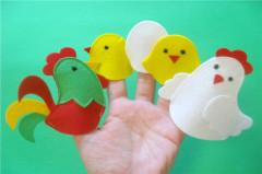 Custom Design Flet Finger Puppet