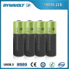 Rechargeable lithium battery 18650 3.7v 2200mah\parallel li ion 18650 battery\18650 li ion battery pack