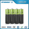 3.7V rechargeable lithium ion battery 2600mAh for electric vehicle