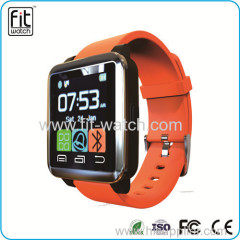 Touch Screen waterproof bluetooth smart watch for android phone