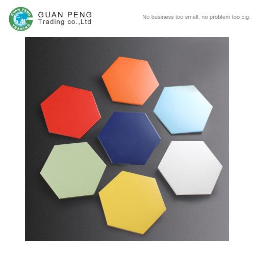 Interior Wall Ceramic Cheap Hexagon Floor Tile