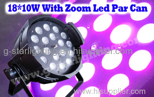 18*10W(5in1) LED PAR WITH ZOOM