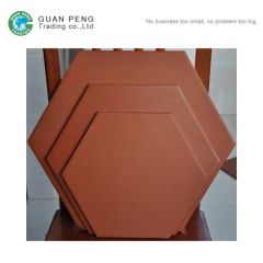 300*300mm Hexagonal Terracotta Floor Tile